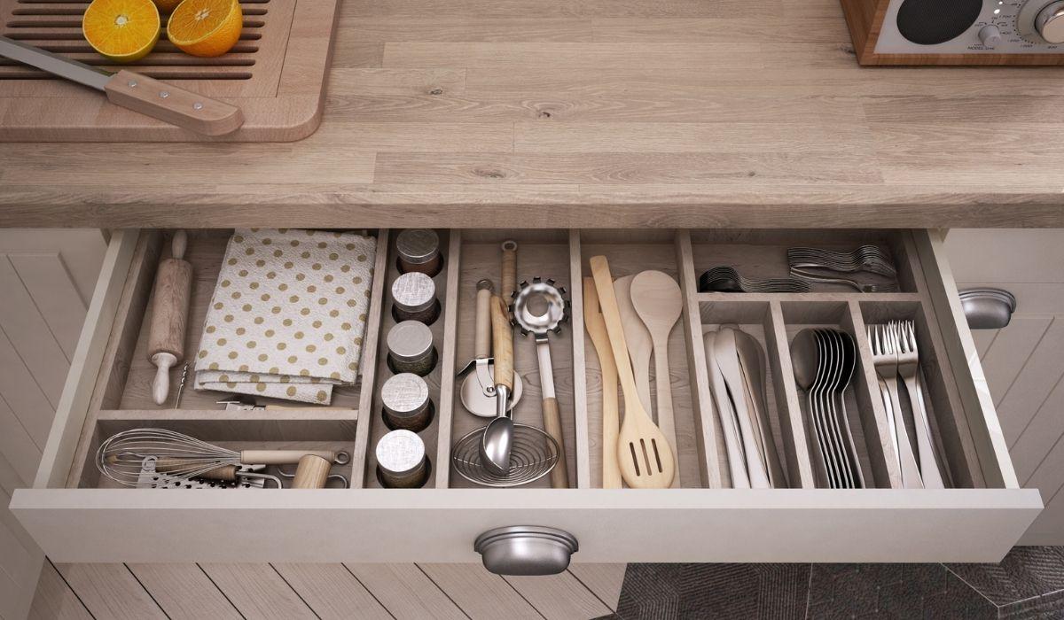 schubladeneinsatz für die küche